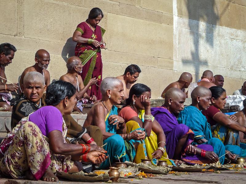 Penitent Pilgrims, Varanasi