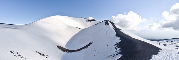 Cinder Cone at Mount Etna Linguaglossa Ski Resort