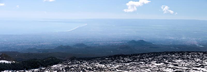 South Slope of Mt. Etna