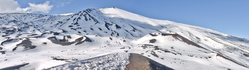 Cinder Cones at Mount Etna Linguaglossa Ski Resort