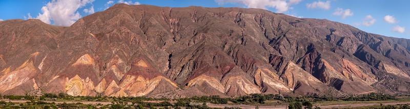 Flatirons at Maimara Argentina