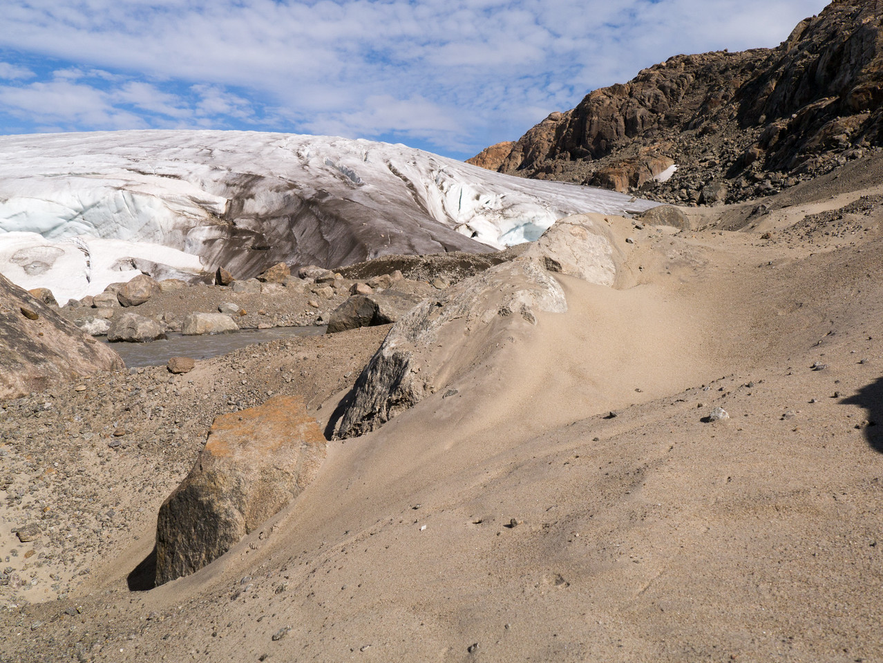 Glacier Flour and Dunes