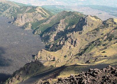 Va de Bove, Mt Etna