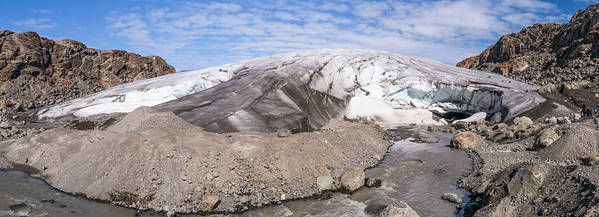 Mittivakkat Glacier Small terminal Moraine