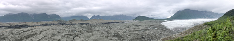 Root Glacier and its moraines