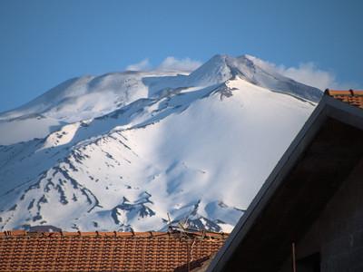 Nicolosi View of Mt Etna
