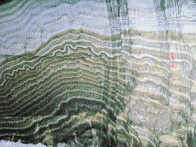 Halite deformation of layers
