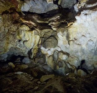 Paleosoils oxidizing in a cave