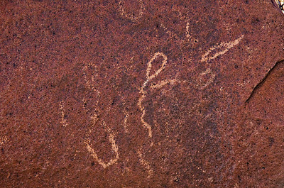 Petroglyph at Indian Head.