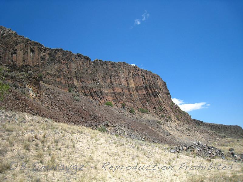 Basalt columns (Montana)