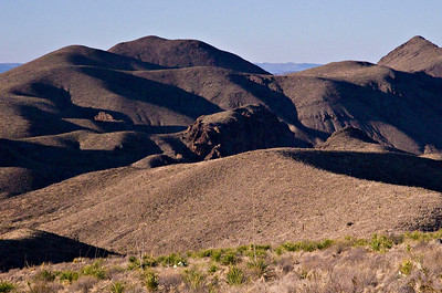 Foothills near Sotol Vista.