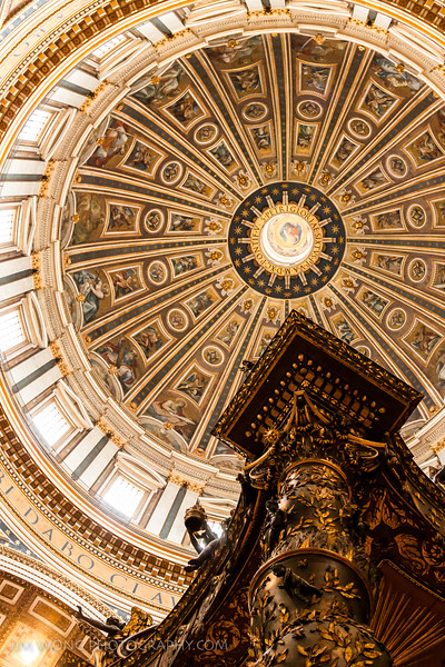 Dome of St. Peter's Basilica, Vatican