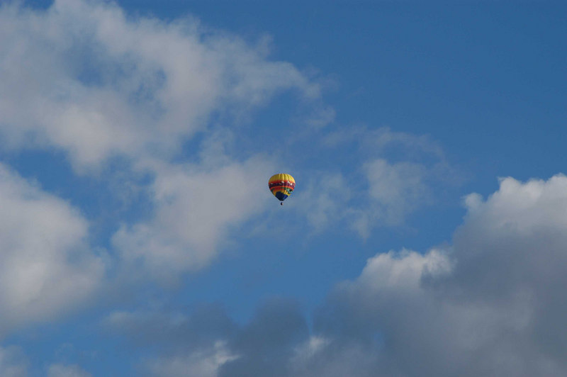 Early morning balloons 1