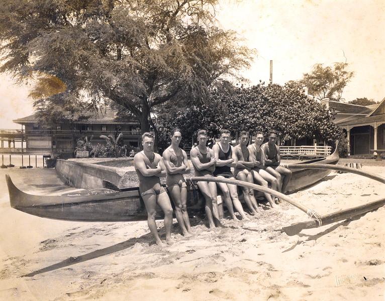 Winning OCC Men's Relay Team 1921