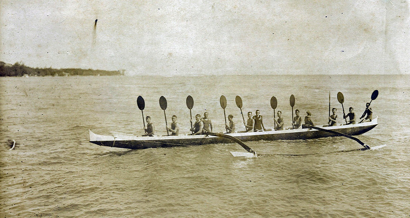 The Princess Canoe c1920