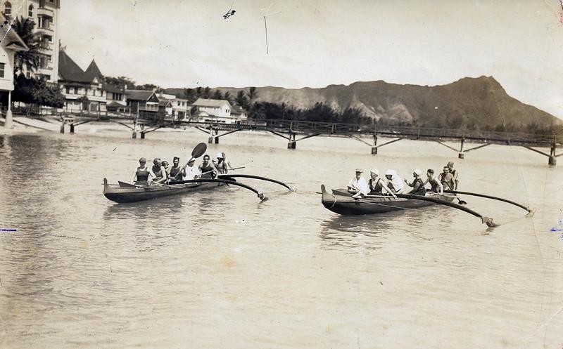 OCC Canoe Rides c1917