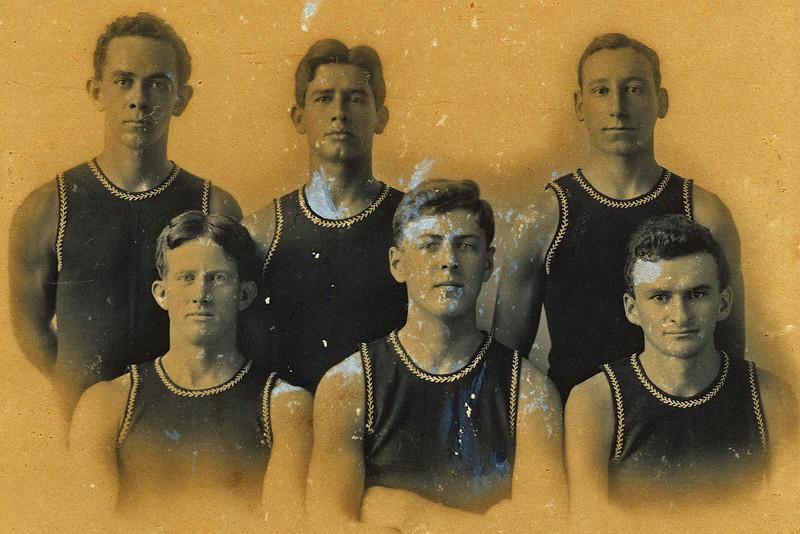 OCC Canoe Racing Champions 1908-1909