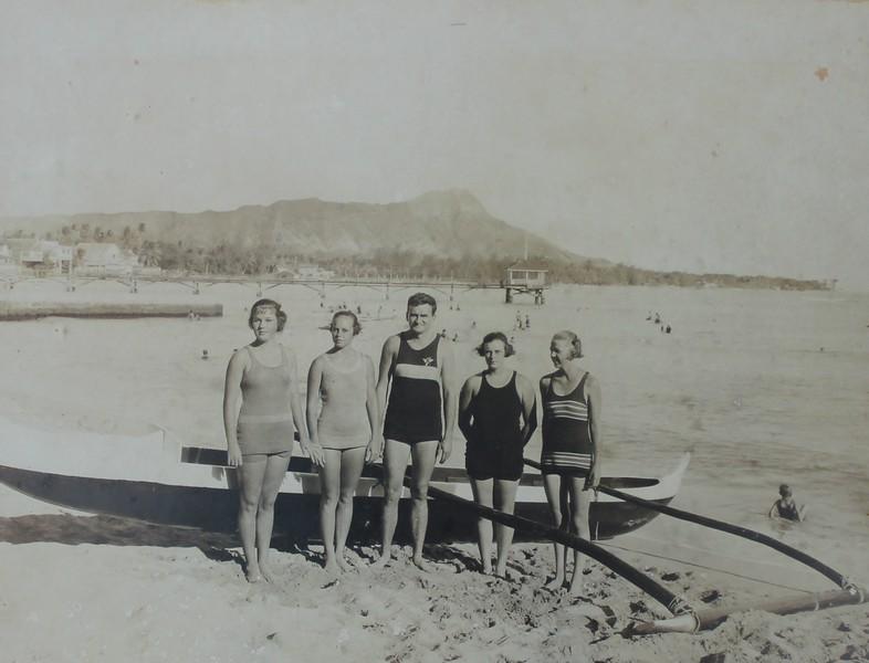 Winning OCC Girls Relay Team 1921