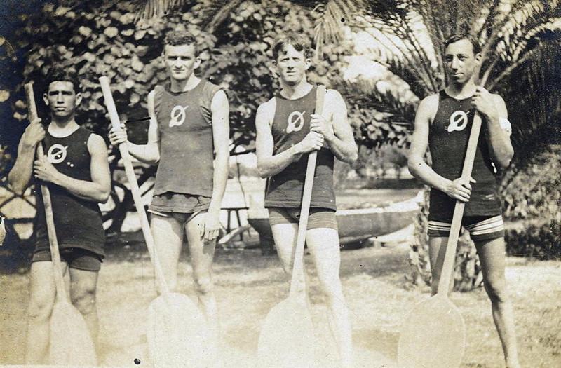 OCC Canoe Racing team 1920s