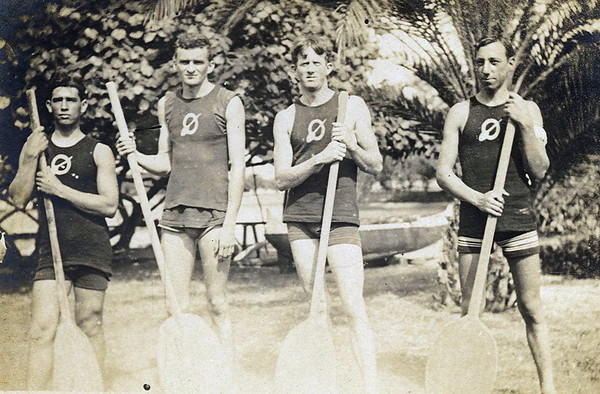 OCC Canoe Racing team 1920s