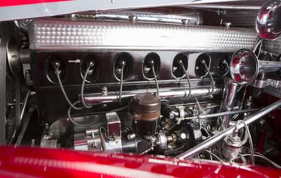 1934 500 K engine intake
