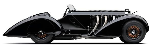 1930 Mercedes-Benz SSK 7 1L I-6 Supercharged side
