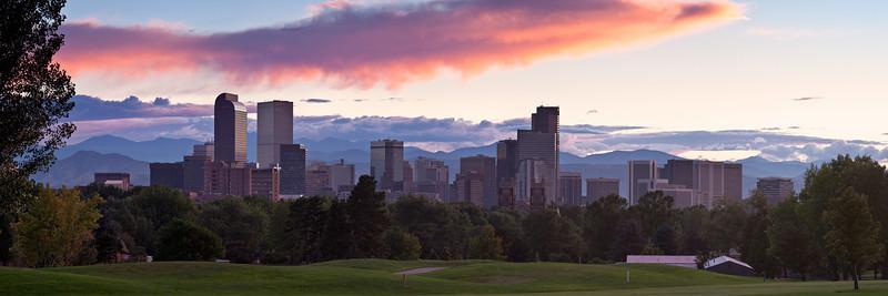 DENVER SKYLINE - Denver, Colorado
