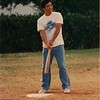 George still playing baseball