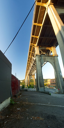 George Washington Memorial Bridge, August 2014