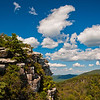 The summit of Big Schloss, George Washington National Forest, Virginia.