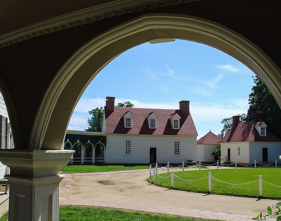 View from Main House, George Washington's Mount Vernon, VA