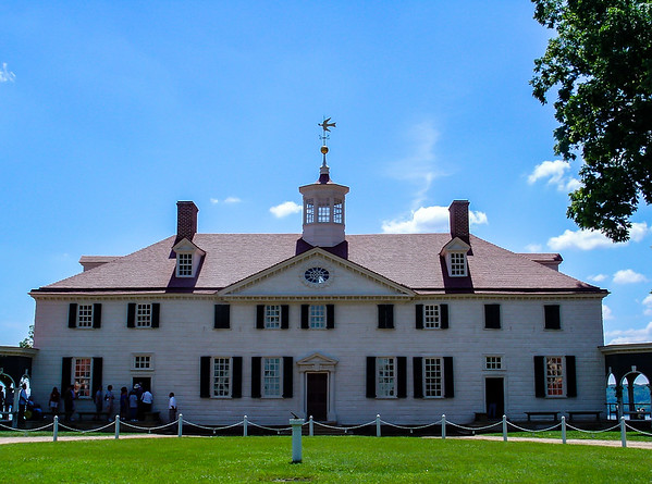 Main House, George Washington's Mount Vernon, VA