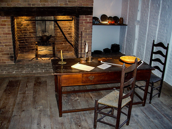Inside Main House, George Washington's Mount Vernon, VA