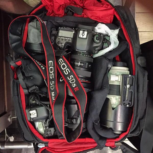A Full Camera Bag