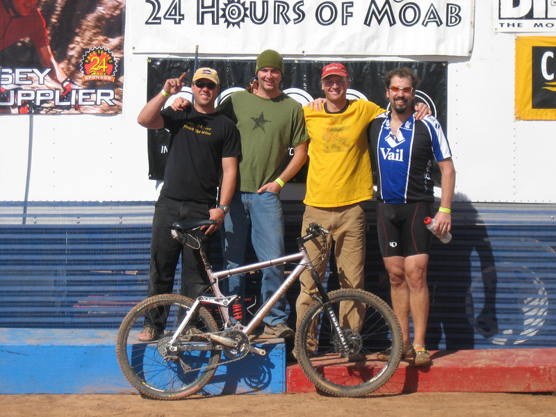 Team Large and In Charge - 24 Hours of Moab, Utah