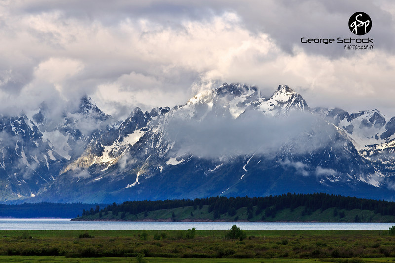 Clearing storm - Grand Tetons