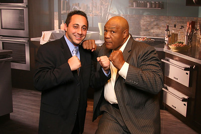 Photos with George Foreman