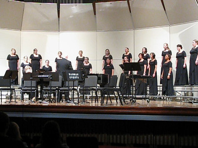 "George Fox University - Womens Chorale performing  ""Confitemini Domino"""