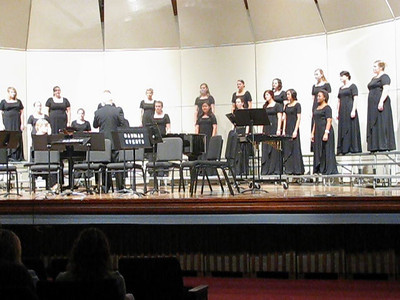 "George Fox University - Womens Chorale performing "" Caledonian's Air from Three Scottish Songs"""