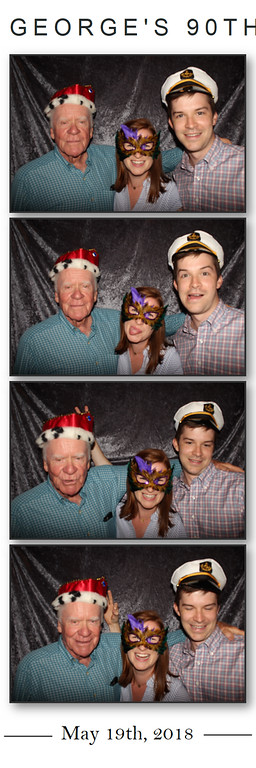 George's 90th Birthday Party