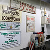 George's Hot Dog Stand in Fitchburg is one of the local seasonal eateries in the North Central MA region. Some of the signs owner Joann Sisoian found and has hung up in her establishment. SENTINEL & ENTERPRISE/JOHN LOVE