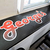 George's Hot Dog Stand in Fitchburg is one of the local seasonal eateries in the North Central MA region. They have a counter for customers to eat at that on one side reads George's. SENTINEL & ENTERPRISE/JOHN LOVE