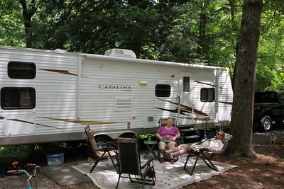 Camping at Cumberland 7-2013