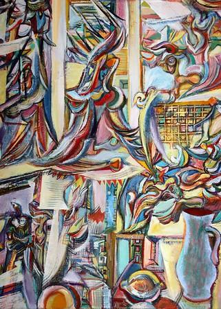 Georgi Tsenov Art Exhibit Reception