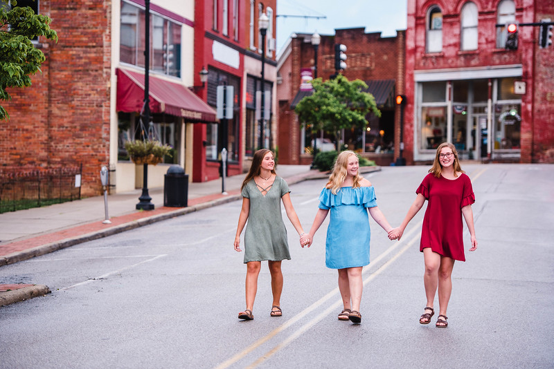 Georgia, Claire, Sarah Beth 2018