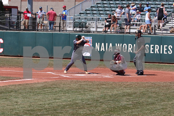 Georgia Gwinnett College Baseball Game Action at 2018 Avista-NAIA World Series