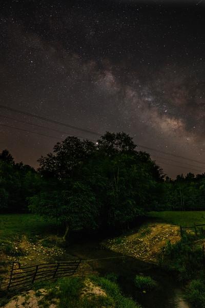 Milky Way Over Greenbrier Creek