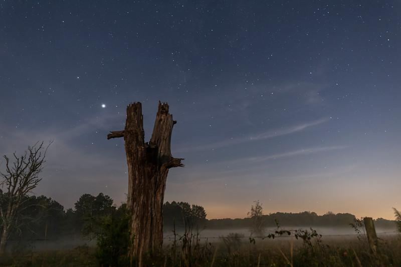 Stars Over Foggy Farm Country