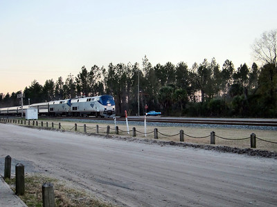 Railfanning in Folkston and Jesup, Georgia - Amtrak Silver Star to New York City