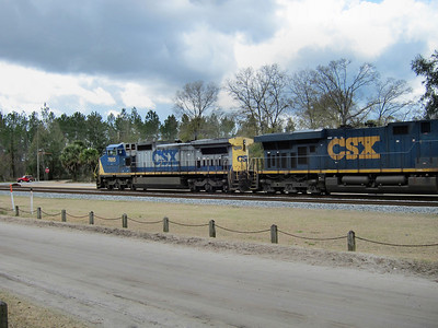 Railfanning in Folkston and Jesup, Georgia